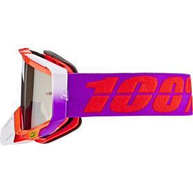 100% Racecraft Anti Fog Mirror Lunettes de protection, watermelon